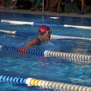 Lena Ringel (2006) kämpfte sich durch die 200m Lagen in einer Zeit von 03:13,86 und erreicht so den 2. Platz auf dieser Strecke.